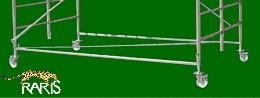 Minischela aluminiu  tip PROFI:  MW2,5