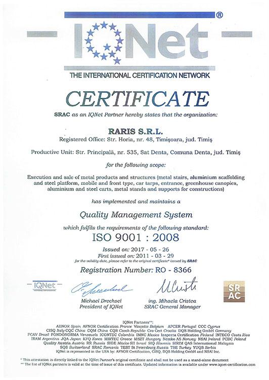 Certificare IQNet
