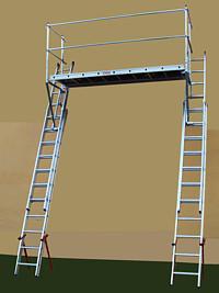 Platforma sprijinita de scari cod PSS