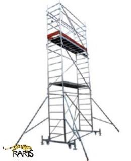 Schele mobile din aluminiu PROFI<br />cu suprafata podina 2,5 x 0,7m
