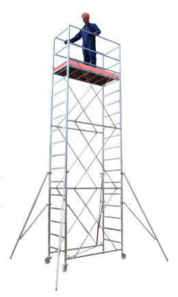 Schele mobile din otel tip NORM<br>cu suprafata podina  1,6 x 0,7m